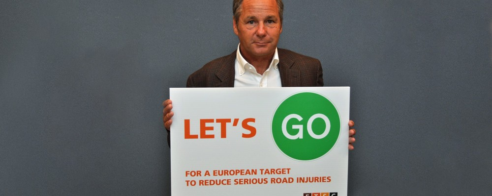 Let's Go for a European Target to Reduce Serious Road Injury
