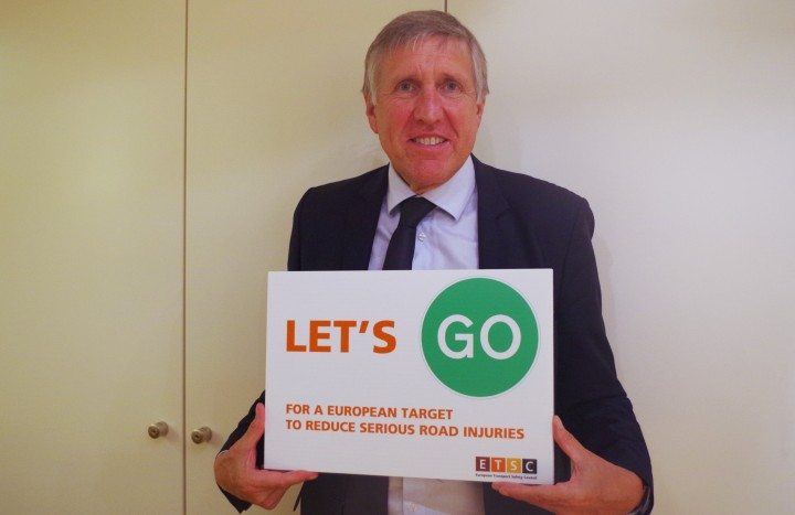 Let's go for a European target to reduce serious road injuries