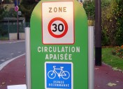 Careful town label for local authorities in France
