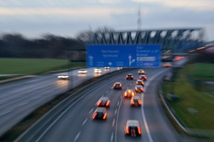 German state plans to trial 120km motorway limit