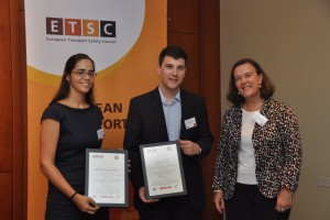 Young engineering students recognised for improving cycling safety in Valencia, Milan and Munich