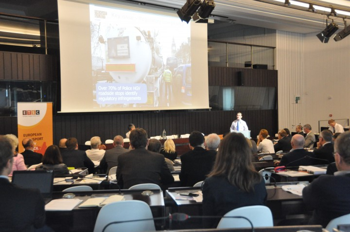 20 October 2015 – European Conference on Work-Related Road Safety, Brussels