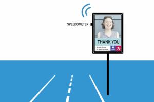 Antwerp's 'selfie' speeding signs
