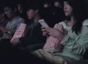 Cinema audience woken up to dangers of texting and driving