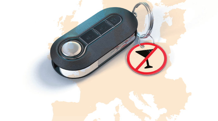 Call for mandatory alcohol interlocks in vans, lorries and buses across the EU
