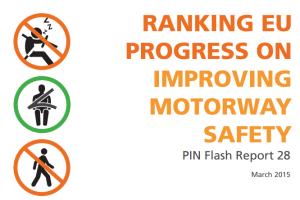 Ranking EU Progress on Improving Motorway Safety (PIN Flash 28)