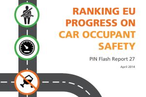 Ranking EU Progress on Car Occupant Safety (PIN Flash 27)