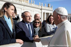 Asking The Pope to support action on road deaths and serious injuries