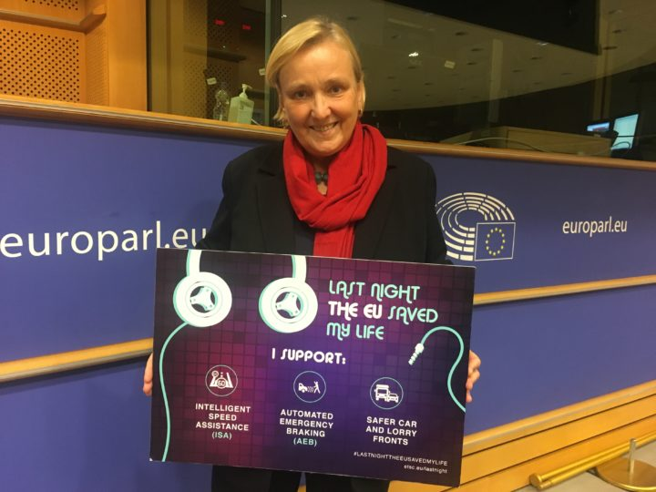 ETSC's #LastNightTheEUSavedMyLife campaign builds support from industry and across the political spectrum