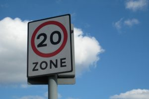 UK survey reveals many drivers exceeding 20 mph limits