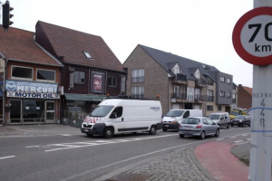 Flanders reduces out of town speed limits