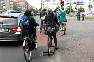 Berlin hails police cycling patrols