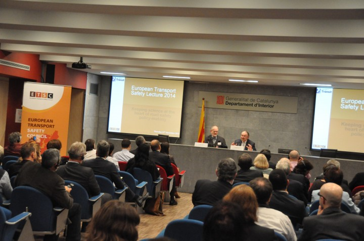 27 November 2014 – Keeping science at the heart of road safety policy-making, Barcelona