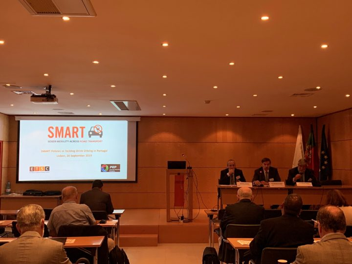 20 September 2019 – SMART policies for tackling drink driving, Lisbon