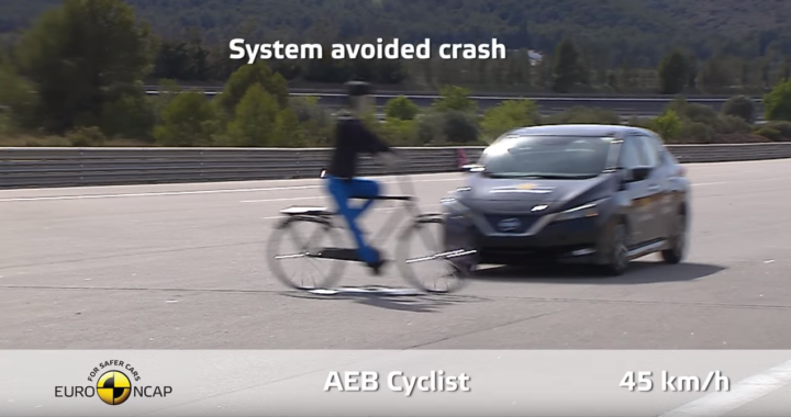 Latest Euro NCAP five-star rating scheme includes cyclist-detection Autonomous Emergency Braking