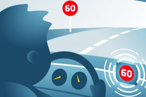 ETSC shows new MEPs the benefits of smart speed tech